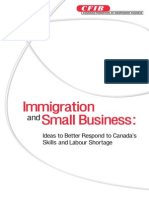 Immigration and small business