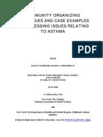 Asthma & Organizing Workshop-Document-SL