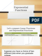 exponential functions powerpoint