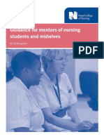 Royal College of Nursing_Guidance for Mentors of Nursing Students and Midwives