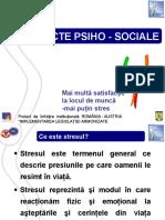 aspecte psiho-sociale