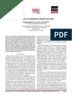 Failure Localization in Optical Networks