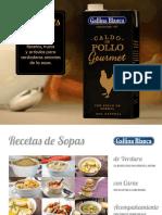 Recetario Gourmets de Cuchara