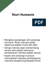 Teori Humanis