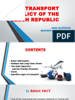 The Transport Policy of the Czech Republic (1)