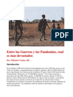 Guerras, Genocidios y Pandemias