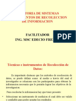 """Instrumentos de Recolección de Información"