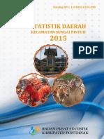Statistik Daerah Kecamatan Sungai Pinyuh 2015