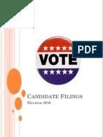 2010 Candidate Update
