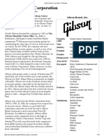 Gibson Guitar Corporation -