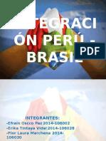 INTEGRACIÓN Peru Brasil