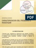 Caracterizacion Del Problema a Investigar p1