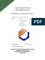 Laporan Praktikum Bioproses (Cover&Daftar Isi)