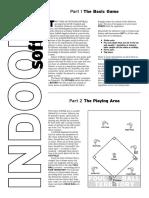 indoor softball rules