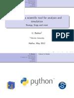 Scientific Python