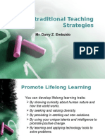 Non-traditional Teaching Strategies_1.pptx
