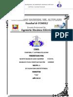 Evaluacion de Examen Sustitutoria de Control y Automatizacion
