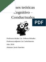 Bases Teóricas Cognitivo