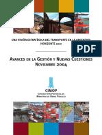 CIMOP_Una Visión Estratégica Del Transporte en La Argentina