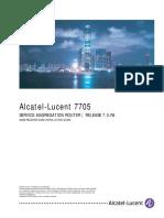 3HE10577AAAATQZZA01 Vol1 7705 SAR GNSS Receiver Card Installation Guide R7.0.R4