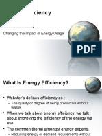 A Energy Efficiency
