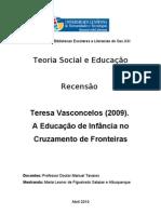 recensão  Prof Tavares, BE 23- Leonor Albuqerque