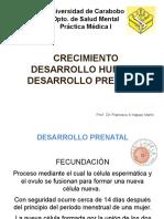 Crecimiento Desarrollo Hmano y Prenata 2013