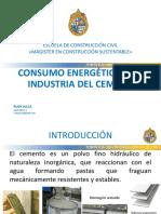 Consumo Energetico en La Industria Del Cemento_rudy Julca