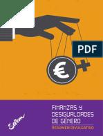 Finanzas Desigualdades Genero Resumen