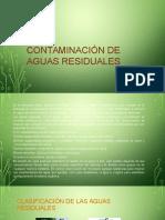 Contaminación de Aguas Residuales