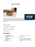 Mega Hamburger Da Paura