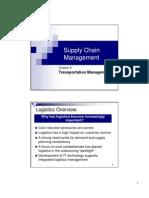 Cha[Ter 6 - Transportation Management