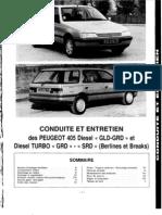 Manual de Taller 405 GRD-GLD-SRD (Fase 1 - Francia)