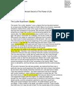 Lucifer Experiment PDF