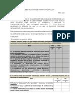 Ficha de Evaluación de Planificación Áulica