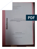 Determinación de Características Fisicas y Propiedades Mecánicas de Planchas de Rollos de Cartón Chip Elaboradas Manualmente