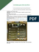 Criar menu de títulos para dvd com Nero Vision 4