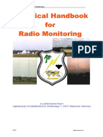 Technical Handbook for Radiomonitoring