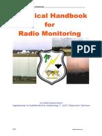 Technical Handbook for Radiomonitoring