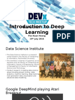 DevEx - Introduction to Deep Learning