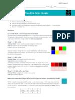 2 4 encoding color images