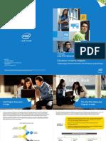 Brochure Intel India PhD Fellowship 2015