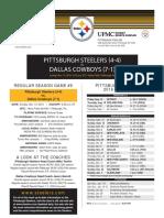 Dallas Cowboys At Pittsburgh Steelers (Nov. 13)