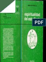 Ángel Mª Rojas - Espiritualidad Del Estudiante