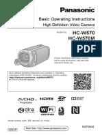 User Manual Videocam