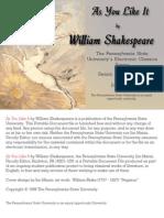 As You Like It - Shakespeare