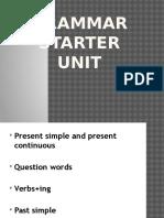 Grammar Starter Unit