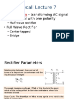 L8 Rectifier Parameters, Filters and Multiple Diodes_S11617