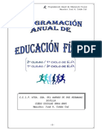 Program. Educación Física 2004-2005