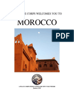 Peace Corps Morocco Welcome Book 2015
